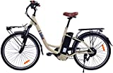 i-Bike, CITY EASY ITA99 Unisex adulto, Crema lucido, 180 x 90 x 32 cm