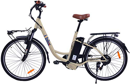 i-Bike, CITY EASY ITA99 Unisex adulto, Crema lucido, 180 x 90 x 32 cm