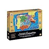 Diset- Provincias y Autonomías de España Puzzle Educativo, 137 Piezas, Multicolor (68942)