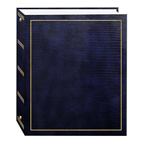 Pioneer Photo Albums Magnetic Self-Stick 3-Ring Photo Album (50 Sheets)