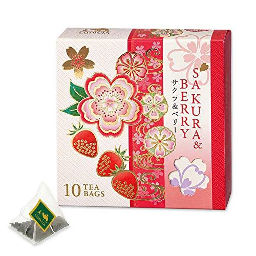 LUPICIA (ルピシア) 2020 5604 SAKURA & BERRY ティーバッグ10個 限定デザインBOX入 ティーバッグ