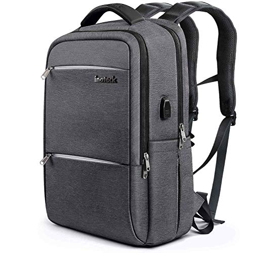 Inateck CB1001S Anti Theft School Bag Business Travel Laptop Backpack with USB Charging