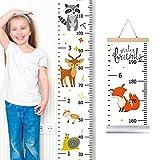 vitihipsy Kinder Wachstum Wandtafel Messlatte für Kinder Höhenmessung Wandbehang Lineale Raumdekoration