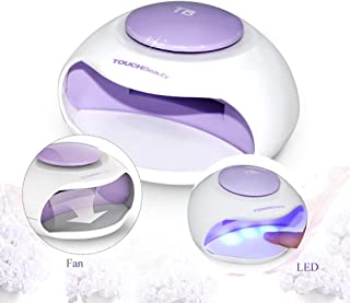 Portable Nail Dryer with Fan & LED Light By TOUCHBeauty Non-Blacken Hands Mini Size Ideal For Regular Nail Polishes TB-0889