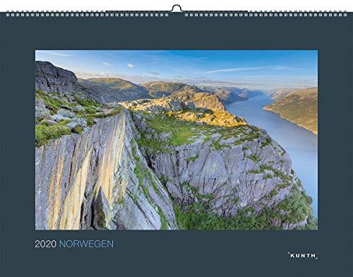 Norwegen 2020: Kalender 2020 (KUNTH Wandkalender Black Edition)