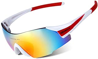 Outdoor Sports Single-Film HD Riding Sunglasses Windshield is Suitable for Cycling, Hiking, Fishing, Skiing, Golf.