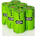 Compostable Dog Poop Bags, Plant-Based Poop Bag for Dogs. 60 Unscented Thick Leak Proof Pet Waste Bags 11x13. 4 x Refill Rolls Fit Standard Dispensers. Highest Rated ASTM D6400 Supports Doggie Rescue 12