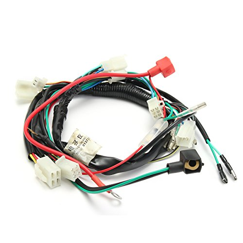 ILS - Electric Engine Start Wiring Loom Harness Pit Bike Motorcycle ATV Quad 70cc 90cc 110cc 125cc