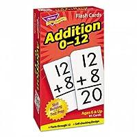 トレンドt53101スキルドリルフラッシュカード、3x 6、Addition