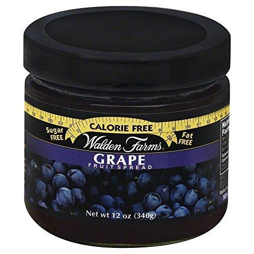 Walden Farms Grape Fruit Spead 12 Oz (Pack of 6) by Walden Farms