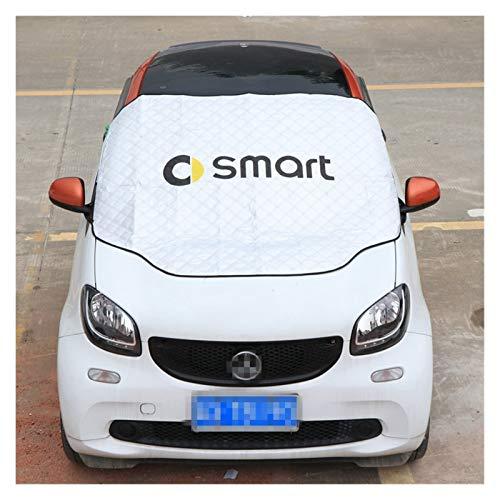 Parasol Coche Protector solar resistente al agua anticongelante cubierta de nieve compatibles con Mercedes Smart Forfour Fortwo 453 451 450 parabrisas Toldo cubierta del coche de las piezas de automóv