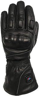 bleu et noir//noir//rouge taille s-2XL Lemoko gants moto en cuir de couleur noir