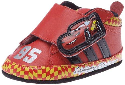 adidas Disney Cars 2C, Schuhe Multisport Unisex Kinder, Rot - Rot - Rouge/Noir1/Lumière - Größe: 17