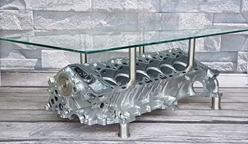 Tisch Aventador V12 Coffee Table Motortisch Motor Handmade
