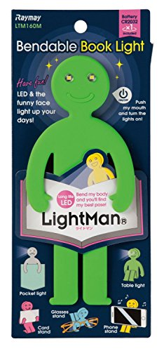 レイメイ藤井 LED ブックライト ライトマン グリーン LTM160M