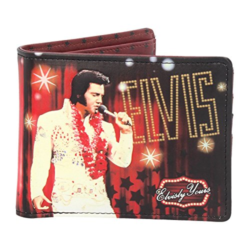 Nemesis Now Elvis Wallet 10cm Red, PU, One Size