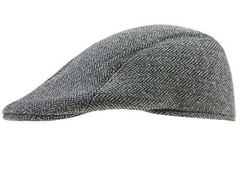 FakeFace Unisex Classic Baskenmütze Schirmmütze Schiebermütze Wollmütze Beret Cap Barret Mütze Kappe Hut