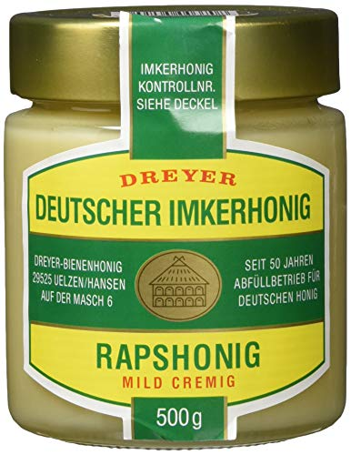 Dreyer Deutscher Rapshonig, 2er Pack (2 x 500 g)