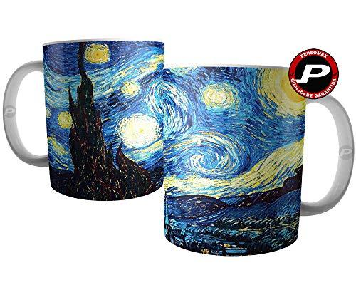 Caneca Noite Estrelada - Pintura de Van Gogh