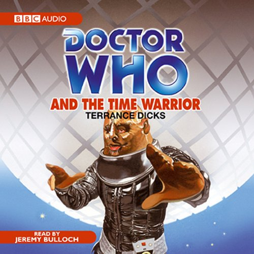 Doctor Who and the Time Warrior audiobook cover art