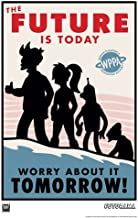 Acme Archives Futurama The Future is Today LE Unframed Giclee Print