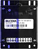 Elcom Türelektronik ELA-402 B75 H99 T27 mm Türstation für Türkommunikation 4250111820585