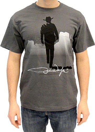 John Wayne - Camiseta - Hombre Gris Gris Large