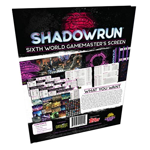 Unbekannt Shadowrun Sixth World Gamemaster Screen