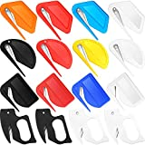 16 Pieces Christmas Wrapping Paper Cutter Tool Tube Letter Opener Envelope Slitter Present Wrap Paper Cutter Carton Opener Box Opening Tool Envelope Openers with Razor Blade for School Office Home