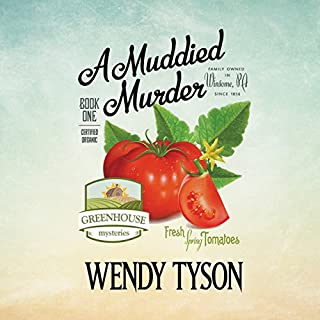 A Muddied Murder audiobook cover art