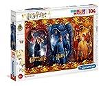 Clementoni - 61885 - Puzzle - Harry Potter-104 pièces - Multicolore