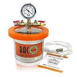 professional BACOENG Universal Vacuum Chamber: Standard 2 qt