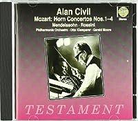 Mozart: Horn Concertos, Nos. 1 - 4 / Mendelssohn: A Midsummer Night's Dream / Rossini: Prelude (1997-06-02)