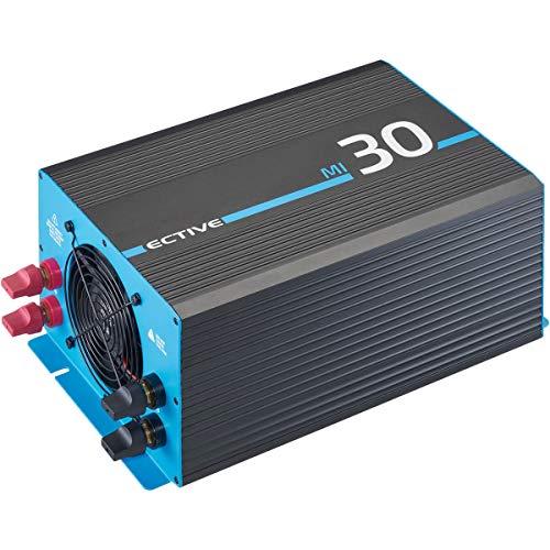 ECTIVE 3000W Wechselrichter 12V zu 230V Spannungswandler mit modifizierter Sinuswelle MI 30 in 7 Varianten: 300W - 3000W