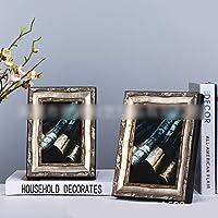 LNLW デスクの写真木製の写真フレーム結婚式の写真フレーム装飾用リビングルームフォトフレーム (Size : 5*7)