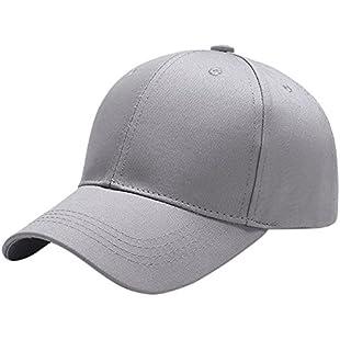 Yidarton Baseball Cap Polo Style Classic Sports Casual Plain Sun Hat (Grey):Downloadlagump3gratis