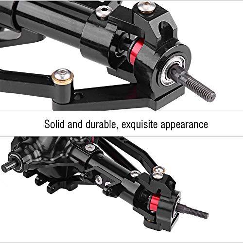 Dilwe Vordere Hinterachse Reifenantriebswelle für Axial SCX10 Jeep / D90 1/10 RC Auto