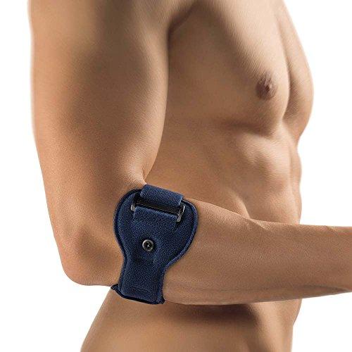 Bort EpiContur® Epicondylitis Soft Spange 1 Pelotte Muskelsprung Unterarm, blau,