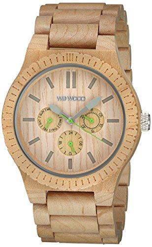 WEWOOD Quarzuhr Kappa Beige WW15001