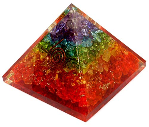 Energy Generator Orgone Pyramid for E-Energy Protection & Healing- meditation orgonite pyramids/crystal chakra