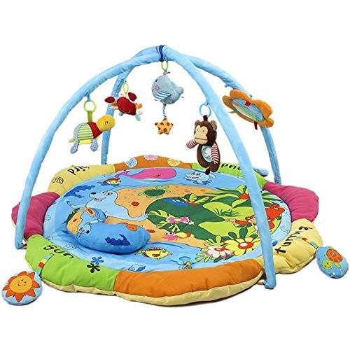 JJSFJH Tapis de Jeu Jeu Blanket Crawling Tapis de Remise en Forme en Rack Blanket Jouet Enfant Playmats Happy Child Ocean World Amis Activité Enfants
