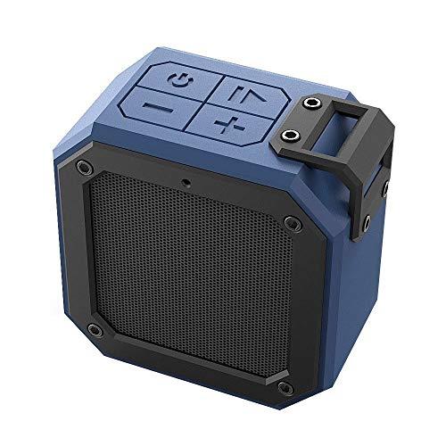 Yi-xir Fashion Design Altavoz inalámbrico de Bluetooth inalámbrico al Aire Libre Mini subwoofer portátil Modesto Stereo Car TWS Wireless Portable Travel (Color : Blue, Size : 100 * 58 * 100mm)