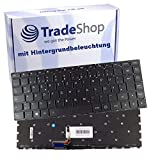 Trade-Shop Original Laptop Tastatur Deutsch QWERTZ für Lenovo Ideapad Yoga 2 13 / Yoga 3 14, E31-70, E31-80, E31-80KX, E31-80KQ mit Hintergr&beleuchtung