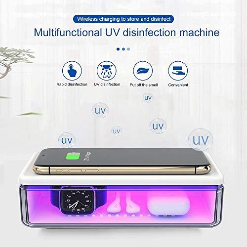 Esterilizador UV Naack para teléfono móvil, luz Ultravioleta, Caja d