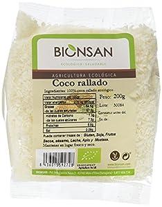 Bionsan Coco Rallado Ecológico - 6 Bolsas de 200 gr - Total: 1200 gr