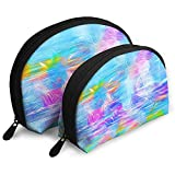 Abstract Paint Splash Bolsas portátiles Bolsa de Maquillaje Bolsa de Aseo,...