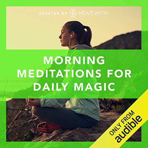 Morning Meditations for Daily Magic audiobook cover art