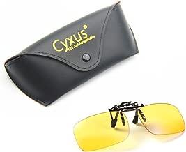 Cyxus Blue Light Filter UV Blocking Glasses [Clip On] Anti Eye Strain (Sleep Better), Computer/Cell Phone/PC Game/TV Safety Protection Block Radiation Reading Eyewear