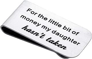 father of the bride money clip