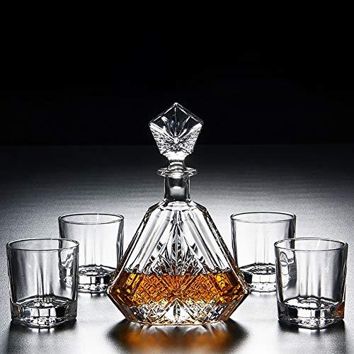Juego de 5 vasos de whisky, regalos de ideas para hombres, 1...